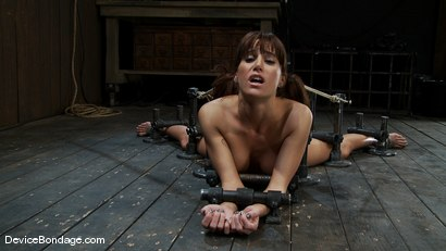 Photo number 1 from Machine fucked and Double Penetrated to multiple brutal orgasms! shot for Device Bondage on Kink.com. Featuring Gia DiMarco in hardcore BDSM & Fetish porn.