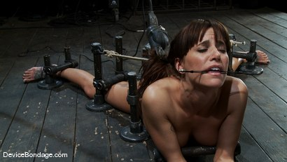 Photo number 14 from Machine fucked and Double Penetrated to multiple brutal orgasms! shot for Device Bondage on Kink.com. Featuring Gia DiMarco in hardcore BDSM & Fetish porn.
