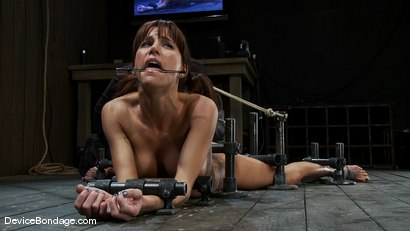 Photo number 9 from Machine fucked and Double Penetrated to multiple brutal orgasms! shot for Device Bondage on Kink.com. Featuring Gia DiMarco in hardcore BDSM & Fetish porn.
