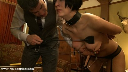Photo number 3 from Service Session: Laying the China shot for The Upper Floor on Kink.com. Featuring Cherry Torn in hardcore BDSM & Fetish porn.