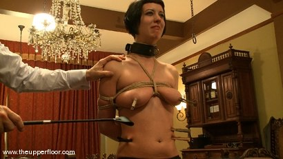 Photo number 11 from Service Session: Laying the China shot for The Upper Floor on Kink.com. Featuring Cherry Torn in hardcore BDSM & Fetish porn.