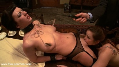 Photo number 8 from Service Session: Domestic Training shot for The Upper Floor on Kink.com. Featuring Cherry Torn and Bella Rossi in hardcore BDSM & Fetish porn.