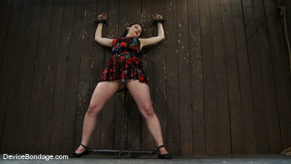 Photo number 2 from Maggie Mayhem   The Old Ball and Chain shot for Device Bondage on Kink.com. Featuring Maggie Mayhem in hardcore BDSM & Fetish porn.