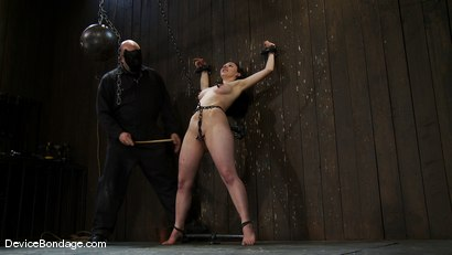 Photo number 14 from Maggie Mayhem   The Old Ball and Chain shot for Device Bondage on Kink.com. Featuring Maggie Mayhem in hardcore BDSM & Fetish porn.