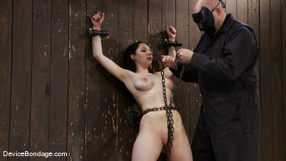 Photo number 6 from Maggie Mayhem   The Old Ball and Chain shot for Device Bondage on Kink.com. Featuring Maggie Mayhem in hardcore BDSM & Fetish porn.