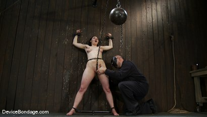 Photo number 7 from Maggie Mayhem   The Old Ball and Chain shot for Device Bondage on Kink.com. Featuring Maggie Mayhem in hardcore BDSM & Fetish porn.