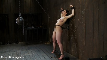 Photo number 9 from Maggie Mayhem   The Old Ball and Chain shot for Device Bondage on Kink.com. Featuring Maggie Mayhem in hardcore BDSM & Fetish porn.