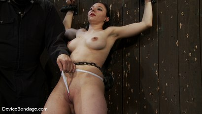Photo number 5 from Maggie Mayhem<br>The Old Ball and Chain shot for Device Bondage on Kink.com. Featuring Maggie Mayhem in hardcore BDSM & Fetish porn.