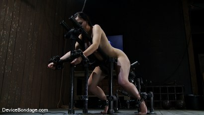 Photo number 1 from Maggie Mayhem<br>Ass hooked and cunt fucked shot for Device Bondage on Kink.com. Featuring Maggie Mayhem in hardcore BDSM & Fetish porn.