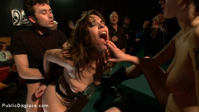 Photo number 11 from The Humiliation of Dana DeArmond shot for Public Disgrace on Kink.com. Featuring James Deen and Dana DeArmond in hardcore BDSM & Fetish porn.