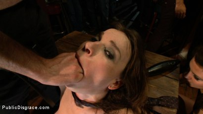 Photo number 4 from The Humiliation of Dana DeArmond shot for Public Disgrace on Kink.com. Featuring James Deen and Dana DeArmond in hardcore BDSM & Fetish porn.