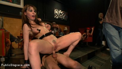 Photo number 15 from The Humiliation of Dana DeArmond shot for Public Disgrace on Kink.com. Featuring James Deen and Dana DeArmond in hardcore BDSM & Fetish porn.