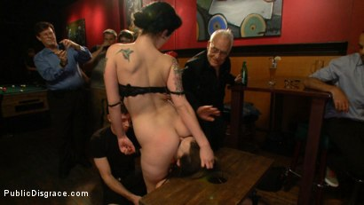 Photo number 3 from The Humiliation of Dana DeArmond shot for Public Disgrace on Kink.com. Featuring James Deen and Dana DeArmond in hardcore BDSM & Fetish porn.