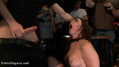 Photo number 6 from The Humiliation of Dana DeArmond shot for Public Disgrace on Kink.com. Featuring James Deen and Dana DeArmond in hardcore BDSM & Fetish porn.