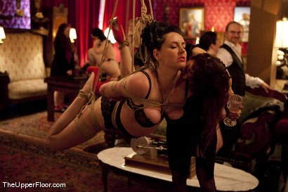 Photo number 8 from Stefanos' Sunday Brunch shot for The Upper Floor on Kink.com. Featuring Cherry Torn in hardcore BDSM & Fetish porn.