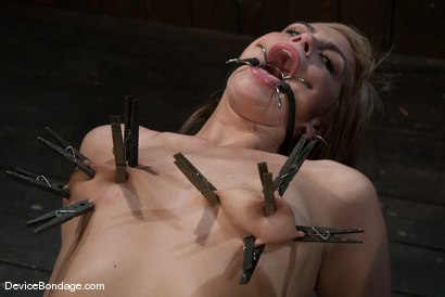Photo number 12 from Tara Lynn Fox<br> Innocence so lost.. shot for Device Bondage on Kink.com. Featuring Tara Lynn Foxx in hardcore BDSM & Fetish porn.
