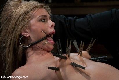 Photo number 14 from Tara Lynn Fox<br> Innocence so lost.. shot for Device Bondage on Kink.com. Featuring Tara Lynn Foxx in hardcore BDSM & Fetish porn.
