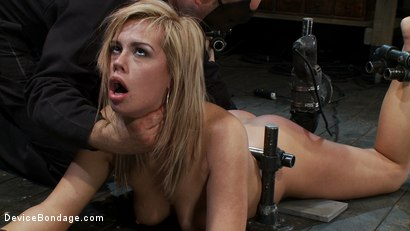 Photo number 10 from 19yr old fucked hard to orgasm! shot for Device Bondage on Kink.com. Featuring Tara Lynn Foxx in hardcore BDSM & Fetish porn.