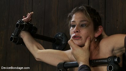 Photo number 1 from Felony <br> You have NEVER seen anything like this before.<br>Countdown to Relaunch-13 of 20 shot for Device Bondage on Kink.com. Featuring Felony in hardcore BDSM & Fetish porn.