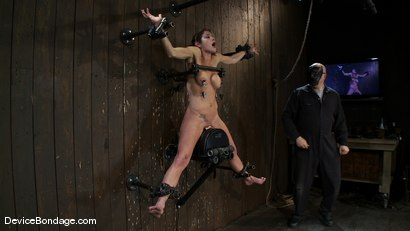 Photo number 11 from Felony <br> You have NEVER seen anything like this before.<br>Countdown to Relaunch-13 of 20 shot for Device Bondage on Kink.com. Featuring Felony in hardcore BDSM & Fetish porn.