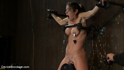 Photo number 7 from Felony <br> You have NEVER seen anything like this before.<br>Countdown to Relaunch-13 of 20 shot for Device Bondage on Kink.com. Featuring Felony in hardcore BDSM & Fetish porn.