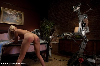 Photo number 2 from The Nanny <br> Part 2 Payback for getting caught shot for Fucking Machines on Kink.com. Featuring Nevaeh in hardcore BDSM & Fetish porn.