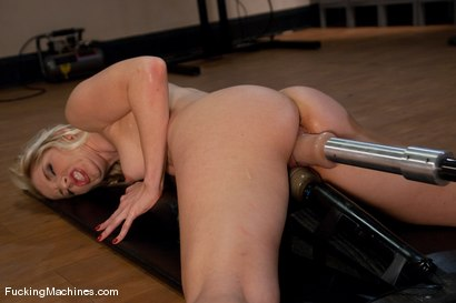 Photo number 12 from Part 5 of 5 <br> Big dildos, tiny pussy, fast machine shot for Fucking Machines on Kink.com. Featuring Ashley Fires in hardcore BDSM & Fetish porn.