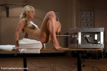 Photo number 5 from Ashley Fires <br> Pretty Girl being dirty, Part 1 of 5  shot for Fucking Machines on Kink.com. Featuring Ashley Fires in hardcore BDSM & Fetish porn.