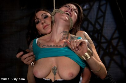 Photo number 4 from Vivienne Del Rio Makes her Porn Debut on Wiredpussy.com! shot for Wired Pussy on Kink.com. Featuring Princess Donna Dolore and Vivienne Del Rio in hardcore BDSM & Fetish porn.