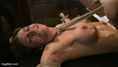 Photo number 14 from Gia DiMarco's overtime fuck... shot for Hogtied on Kink.com. Featuring Gia DiMarco in hardcore BDSM & Fetish porn.