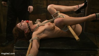 Photo number 13 from Gia DiMarco's overtime fuck... shot for Hogtied on Kink.com. Featuring Gia DiMarco in hardcore BDSM & Fetish porn.