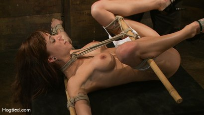 Photo number 3 from Gia DiMarco's overtime fuck... shot for Hogtied on Kink.com. Featuring Gia DiMarco in hardcore BDSM & Fetish porn.
