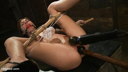 Photo number 8 from Gia DiMarco's overtime fuck... shot for Hogtied on Kink.com. Featuring Gia DiMarco in hardcore BDSM & Fetish porn.