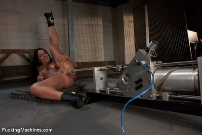 Photo number 5 from Monica Santiago <br> No English, No Inhibition, An Ass for days shot for Fucking Machines on Kink.com. Featuring Monica Santiago in hardcore BDSM & Fetish porn.