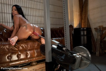 Photo number 12 from Monica Santiago   more ass and even more anal shot for Fucking Machines on Kink.com. Featuring Monica Santiago in hardcore BDSM & Fetish porn.