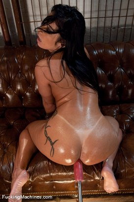 Photo number 13 from Monica Santiago <br> more ass and even more anal shot for Fucking Machines on Kink.com. Featuring Monica Santiago in hardcore BDSM & Fetish porn.