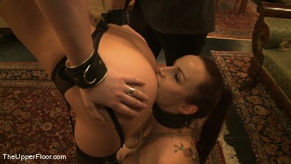 Photo number 14 from Rossi's Tit Training shot for The Upper Floor on Kink.com. Featuring Cherry Torn and Bella Rossi in hardcore BDSM & Fetish porn.