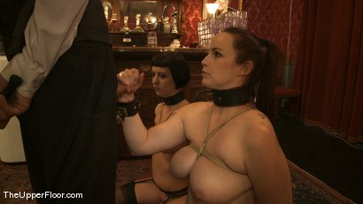 Photo number 4 from Rossi's Tit Training shot for The Upper Floor on Kink.com. Featuring Cherry Torn and Bella Rossi in hardcore BDSM & Fetish porn.