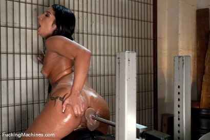 Photo number 11 from Monica Santiago <br> Brazil Booty on the sybian for the first time shot for Fucking Machines on Kink.com. Featuring Monica Santiago in hardcore BDSM & Fetish porn.