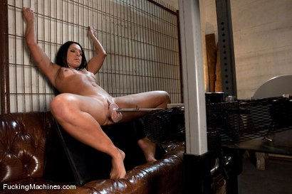 Photo number 2 from Monica Santiago <br> Brazil Booty on the sybian for the first time shot for Fucking Machines on Kink.com. Featuring Monica Santiago in hardcore BDSM & Fetish porn.