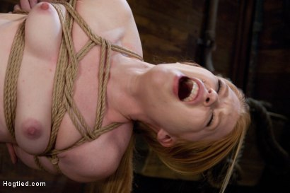 Photo number 14 from Madison Young: Tie it tighter, I like to feel the rope. shot for Hogtied on Kink.com. Featuring Madison Young in hardcore BDSM & Fetish porn.