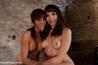 Photo number 14 from Pleased to Meet You: Dana DeArmond and Gia DiMarco shot for Everything Butt on Kink.com. Featuring Dana DeArmond and Gia DiMarco in hardcore BDSM & Fetish porn.