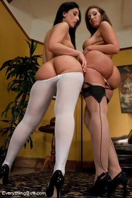Photo number 1 from Ass Fetish: Luscious and Divine shot for Everything Butt on Kink.com. Featuring Kelly Divine and Luscious Lopez in hardcore BDSM & Fetish porn.