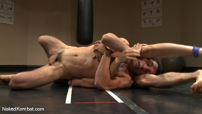 Photo number 6 from Martin Lorenzo vs DJ <br> The Rematch shot for Naked Kombat on Kink.com. Featuring Martin Lorenzo and DJ in hardcore BDSM & Fetish porn.