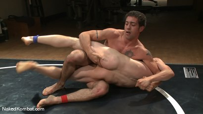 Photo number 8 from Martin Lorenzo vs DJ <br> The Rematch shot for Naked Kombat on Kink.com. Featuring Martin Lorenzo and DJ in hardcore BDSM & Fetish porn.