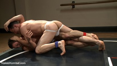 Photo number 3 from Martin Lorenzo vs DJ <br> The Rematch shot for Naked Kombat on Kink.com. Featuring Martin Lorenzo and DJ in hardcore BDSM & Fetish porn.