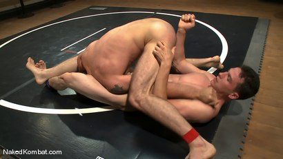 Photo number 7 from Martin Lorenzo vs DJ <br> The Rematch shot for Naked Kombat on Kink.com. Featuring Martin Lorenzo and DJ in hardcore BDSM & Fetish porn.