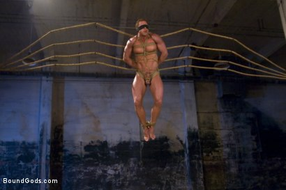 Photo number 1 from The Bodybuilders and The Onyx shot for Bound Gods on Kink.com. Featuring Van Darkholme, Vince Ferelli, Derek Pain and Christian Wilde in hardcore BDSM & Fetish porn.