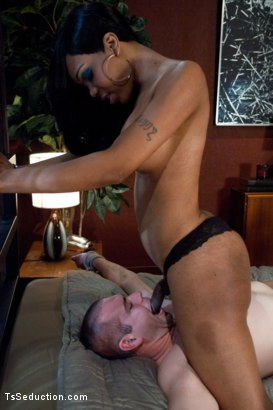 Photo number 6 from The Boss is No Match  shot for TS Seduction on Kink.com. Featuring Sexy Jade and John Jammen in hardcore BDSM & Fetish porn.