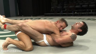 Photo number 4 from DJ vs. Shane Frost shot for Naked Kombat on Kink.com. Featuring Shane Frost and DJ in hardcore BDSM & Fetish porn.